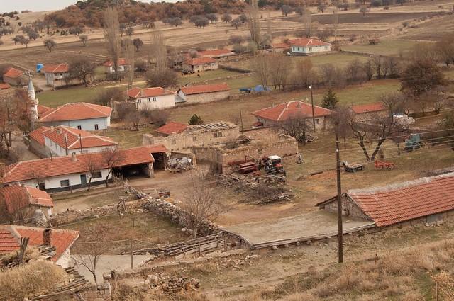 El pueblo de Yazilikaya