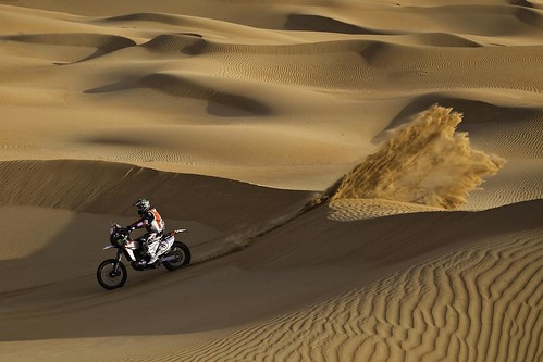 Joan Barreda Abu Dhabi Desert Challenge 2012
