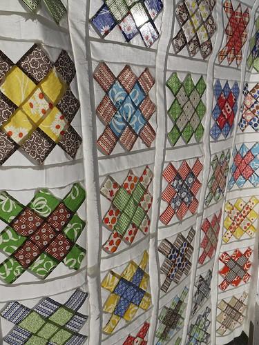 KJR Granny Square Quilt Top
