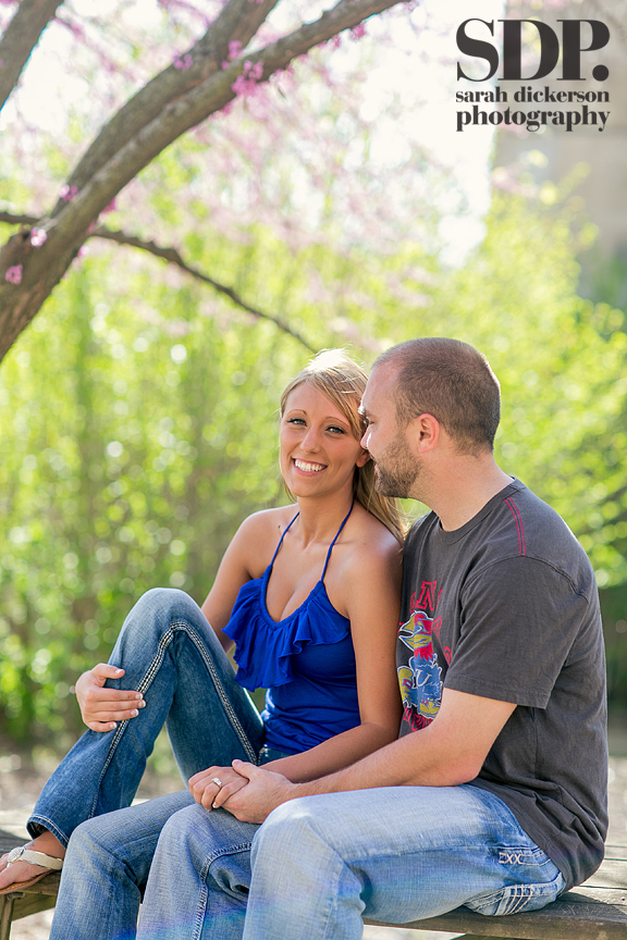 Lawrence Kansas engagement photography