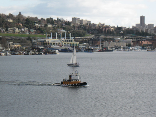 Seattle Rides 1: Winter 2012 - Boats on Lake Union