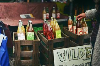 Image of flea market. berlin bottle mauerpark pentaxspotmatic helios442 fleamarketlife