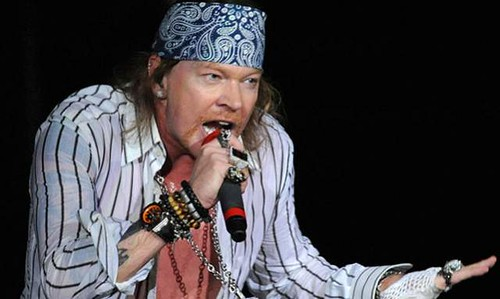 Axl Rose: Legendario Vocalista de Guns n Roses