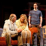 MacIntyre Dixon (Old Man), Cassie Beck (Rita) and Brian Sgambati (Peter) in the Huntington Theatre Company's production of PRELUDE TO A KISS playing at the BU Theatre. Part of the 2009-2010 season. Photo: T. Charles Erickson