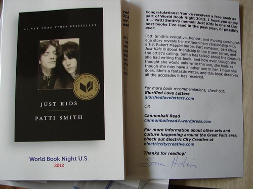 World Book Night US 2012 - Just Kids by Patti Smith