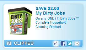Dirty Jobs Complete Household Cleaning Product  Coupon