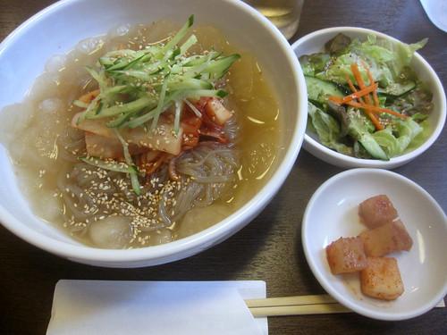 冷麺@パクちゃん家(江古田)