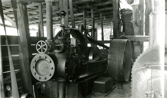 Steam Engine Cutting wood