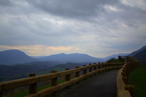 county wood mist mountain storm rain clouds dark james virginia memorial scenic route walker va valley wise rails powell 23 overlook robinson
