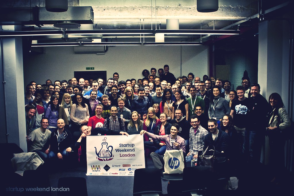 Startup weekend final photo
