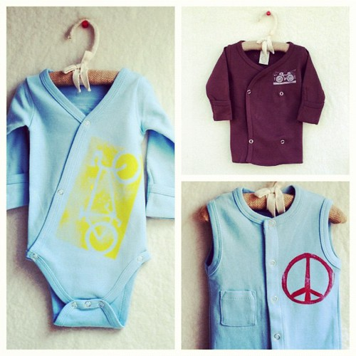 Shop update, new items for the wee ones that snap instead of pullover for easy changes