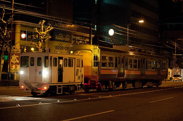 伊予鉄道3000系 3009F クハ3509 搬入