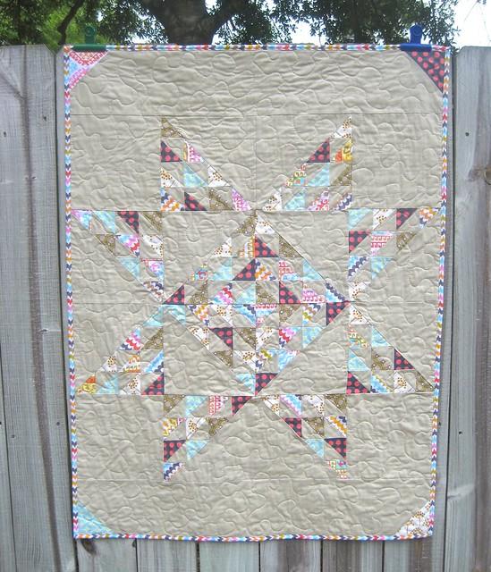 Custom ordered quilt