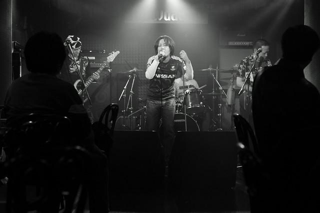 FLEA live at Crawdaddy, Tokyo, 07 Apr 2012. 571