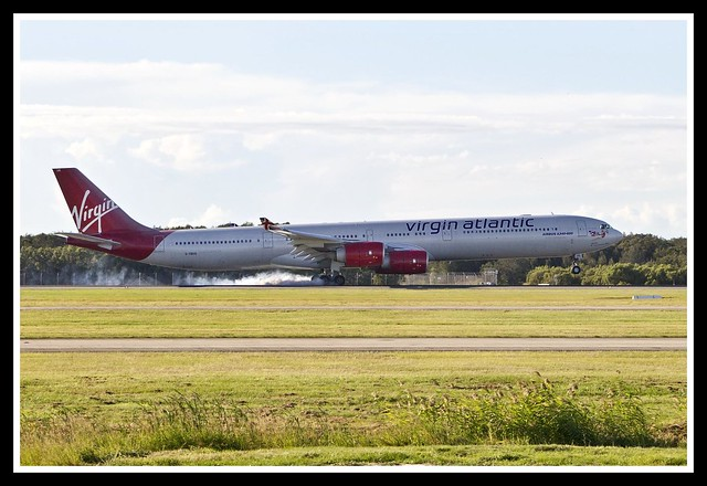 Virgin Atlantic A340