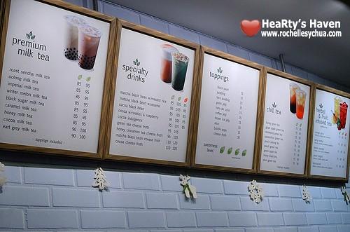 teaberi menu