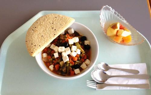 Griechischer Gemüsetopf
