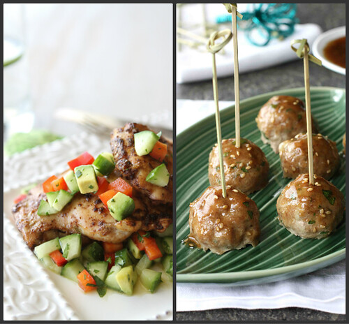 Canuck - Baked Caprese Turkey Meatball Recipe with Sun-Dried Tomatoes ...