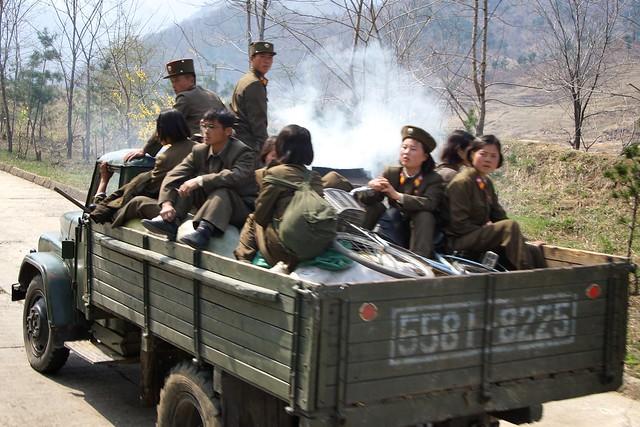 Wonsan - Pyongyang Countryside