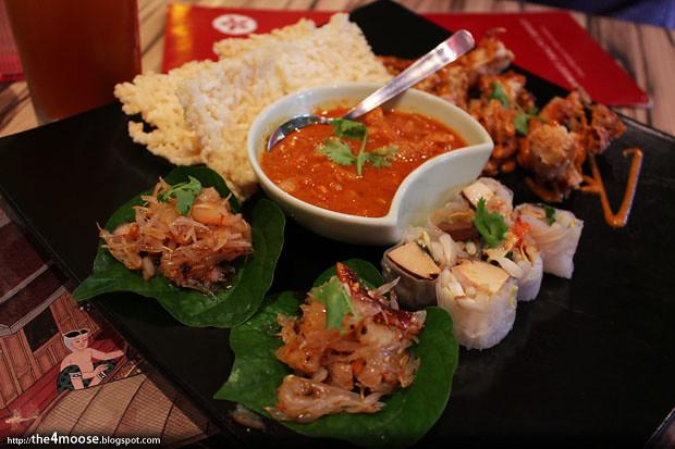 Sweet Salty Spicy -Tasting Platter