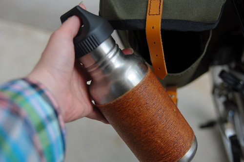 Carradice Pocket, Klean Kanteen