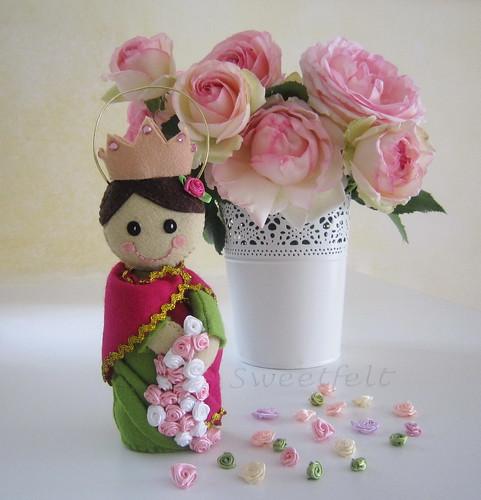 ♥♥♥  São rosas, Senhor... são rosas! by sweetfelt \ ideias em feltro