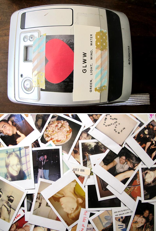 Shoko Wanger Sho and Tell Home Closet Tool tool polaroid camera polaroids