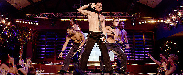 Channing Tatum milks the audience in MAGIC MIKE.