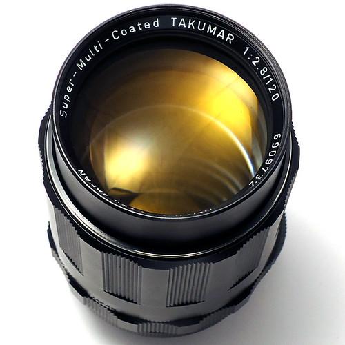 ペンタックス SMC タクマー 120mm F2.8