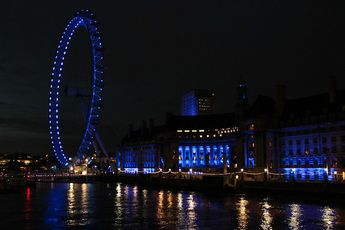 London Eye and South Shore