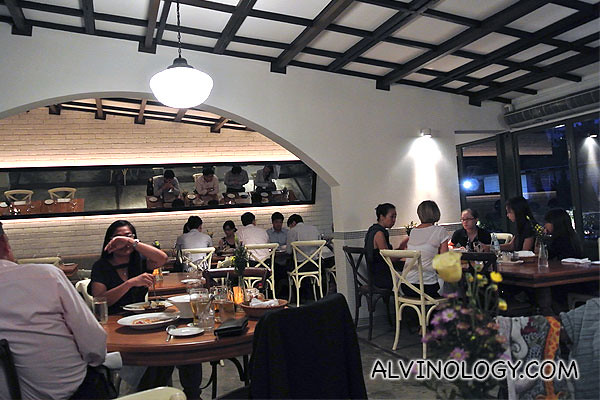 La Villa restaurant interior