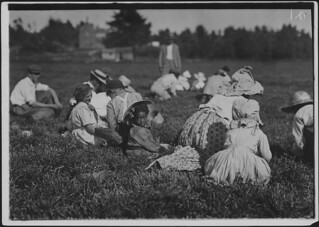 Even the tiny one about 5 years old was picking. Some others picking regularly, September 1911