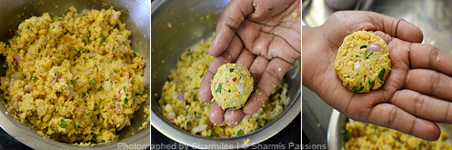 How to make masal vadai - Step4