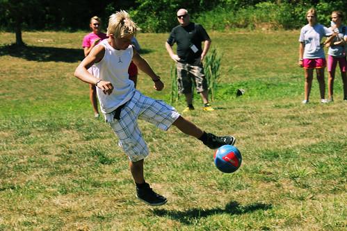 sports youth goal kick soccer teen futbol