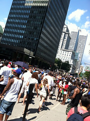 Caribbean festival in Montreal.