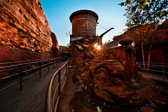 Radiator Springs Racers Queue (HDR)
