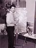 Pete Escovedo painting