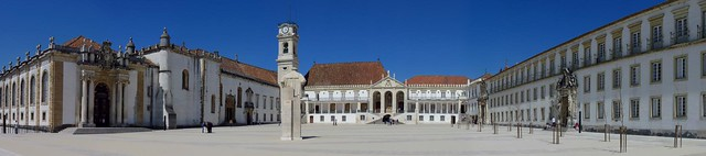 Panorama, Coimbra University, Coimbra, Portugal