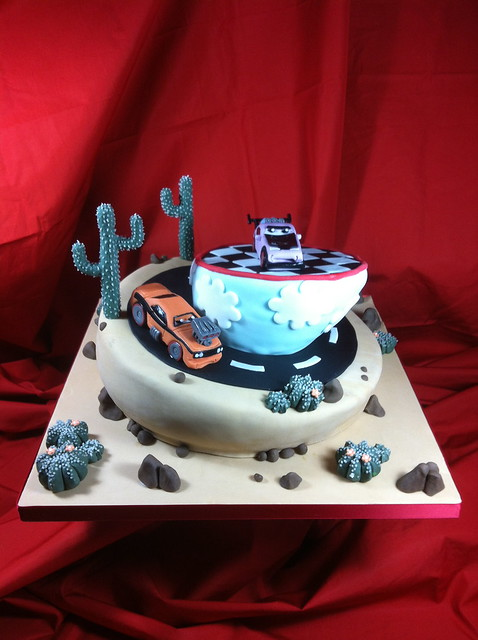 CARS 2 CAKE By Red Carpet Cake Design Flickr Photo