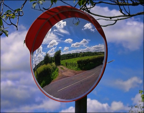 uk blue summer england sky reflection clouds landscape mirror countryside lancashire unusual ribchester ribblevalley