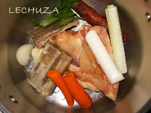 Caldo pollo-carne