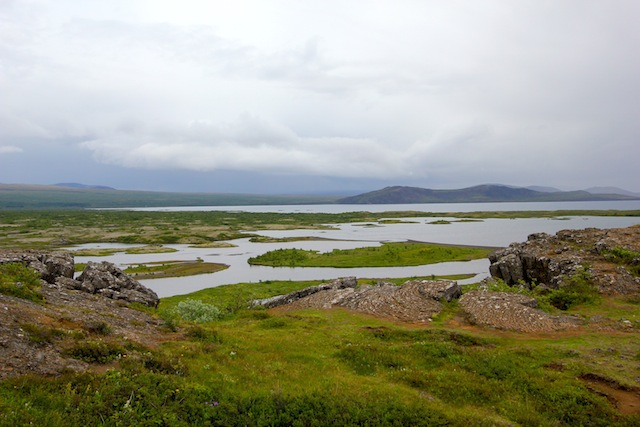 View from Thingvellir