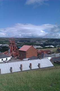 The Winding House and Blaenavon Town