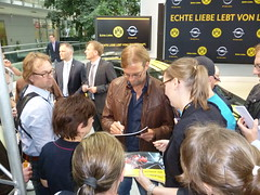 BVB-Pressekonferenz im Adam Opel Haus
