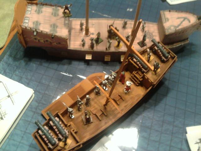 like pirate ship