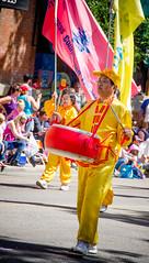 Falun Dafa Drummer