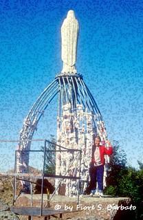 Abbadia San Salvatore (SI), 1985, La Madonna degli Scout sulla Vetta del Monte Amiata.