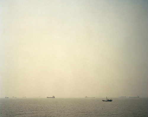 Nadav Kander, Mouth I (Wusongkou, Where River Meets Sea)