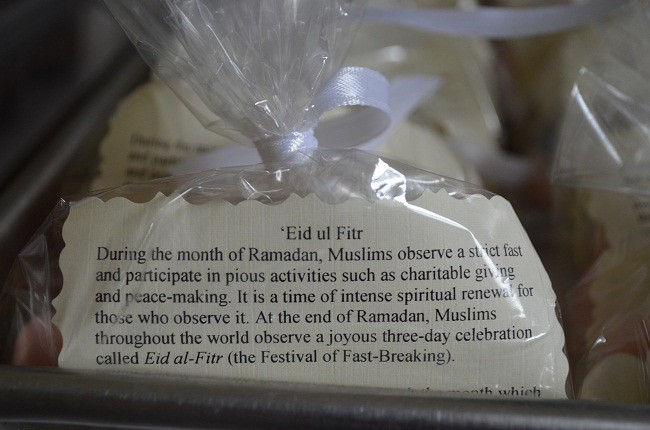 'Eid ul Fitr explained in a party favor bag