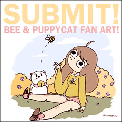 Submit Bee Puppycat Fan Art